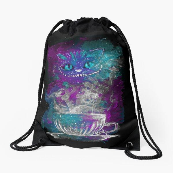 Cheshire's Tea Drawstring Bag