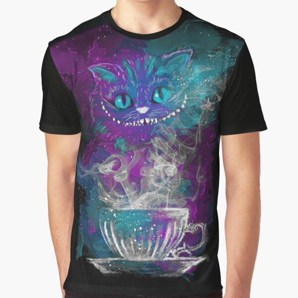 Cheshire's Tea Graphic T-Shirt