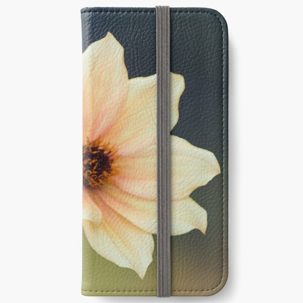 Yellow Flower  iPhone Wallet