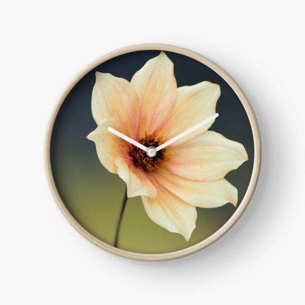 Yellow Flower  Clock