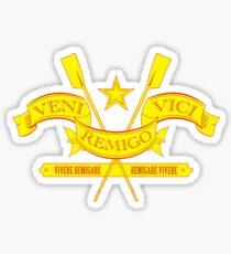 I Came, I Rowed, I Conquered Sticker