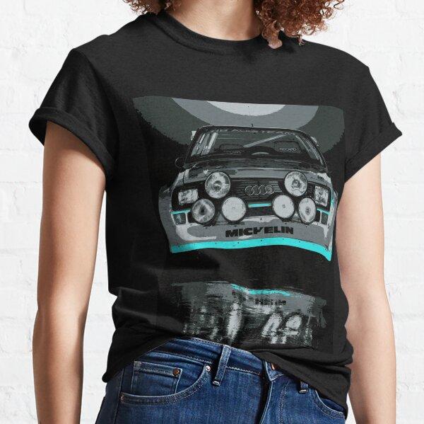 Audi Quattro S1 - GROUP B - RALLY - RACE CAR Classic T-Shirt