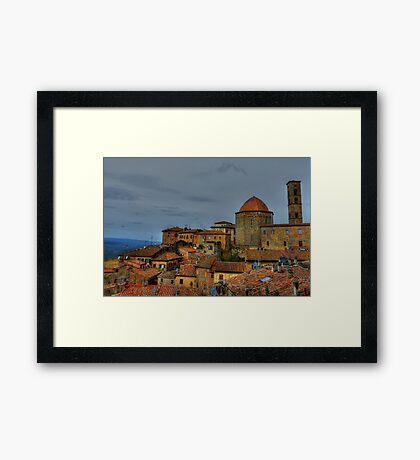 Volterra Views Framed Print