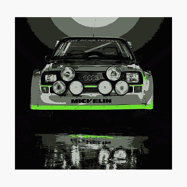 Audi Quattro S1 - GROUP B - RALLY - RACE CAR Photographic Print