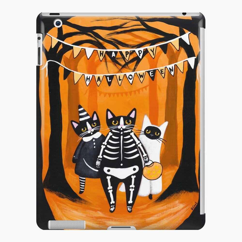 The Halloween Cats iPad Case & Skin