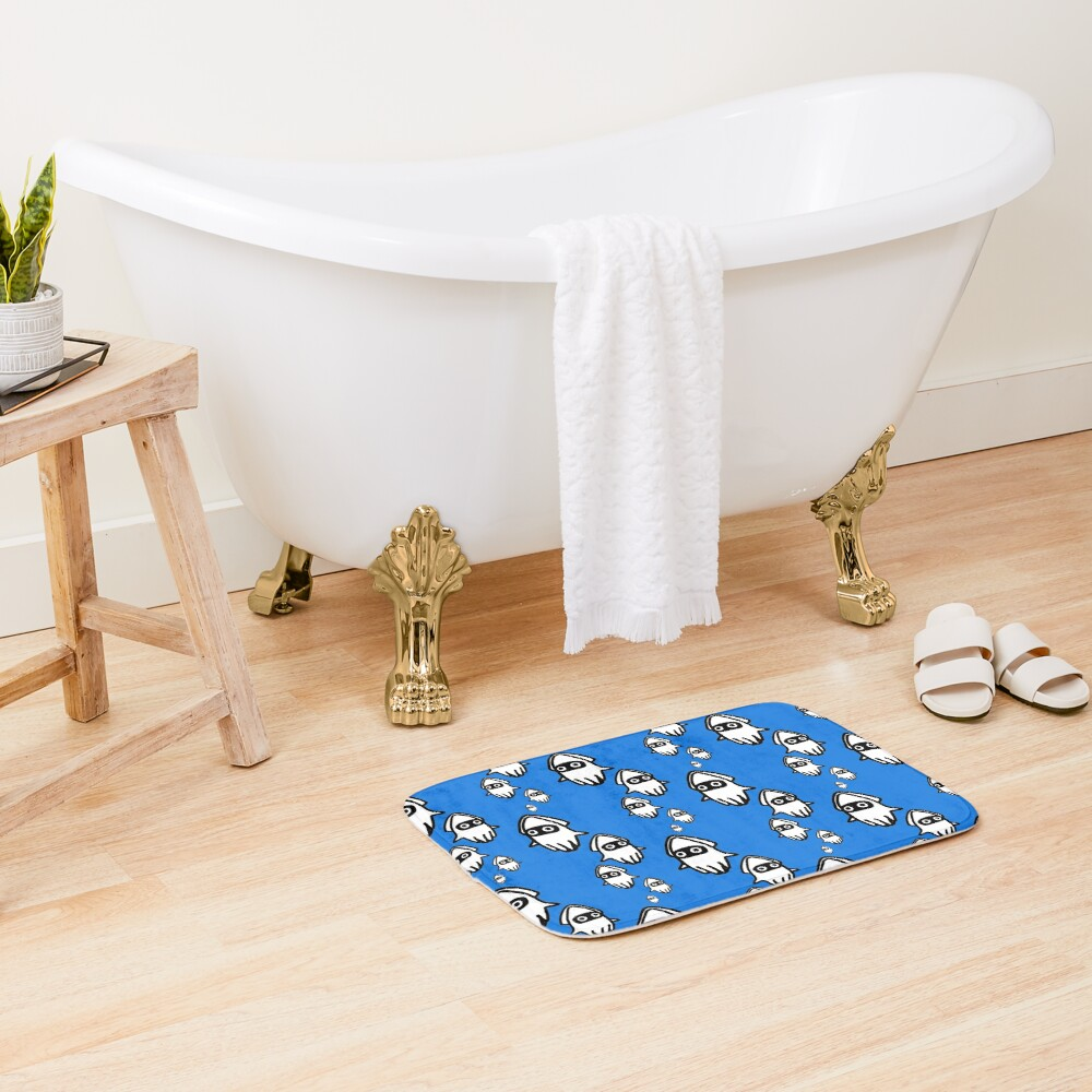 Bloopers Bath Mat