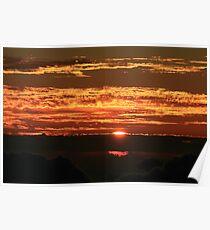 Sunrise on Haleakala Poster