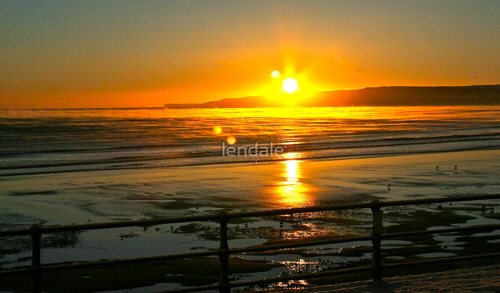 Filey - Speeton 8am sunrise by lendale