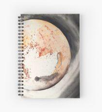 Cuaderno de espiral Retrato de Plutón