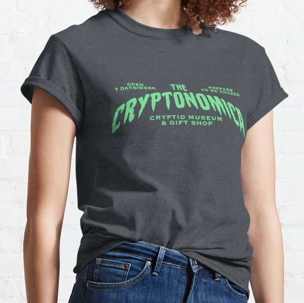 The Cryptonomica Cryptid Museum & Gift Shop Classic T-Shirt