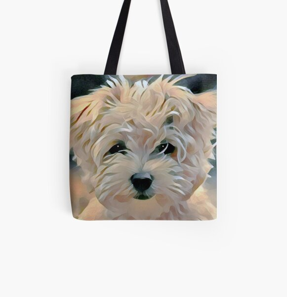 Westie All Over Print Tote Bag