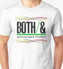 Both/And - lines Slim Fit T-Shirt