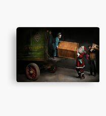 Chritstmas - How Santa ruined Christmas 1924 Canvas Print