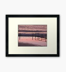 Liquid Crystal Plate Framed Print