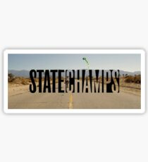 State Champs Logo Sticker