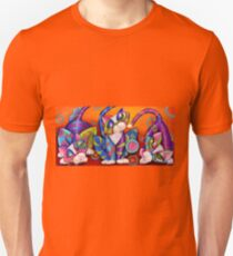 Party Animals Kitty Style Unisex T-Shirt