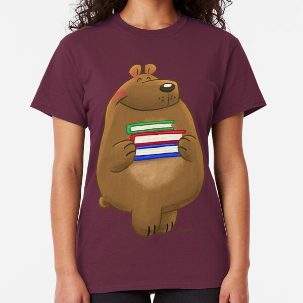 Ready to Read Bear! Classic T-Shirt