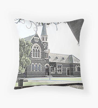 Williamstown Primary School  No. 1183 - circa 1873 Throw Pillow
