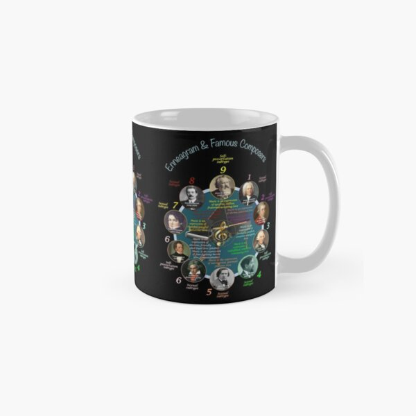 ENNEAGRAM & FAMOUS COMPOSERS Tasse (Standard)