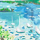 Clark Island from Macleay St by John Douglas