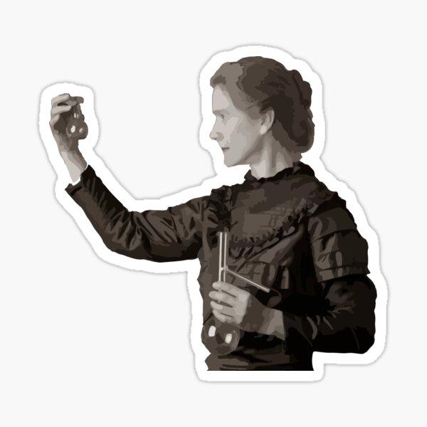 Marie Curie Sticker