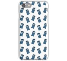 The Tardis Pattern iPhone Case/Skin