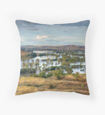 Gundagai Floods Throw Pillow