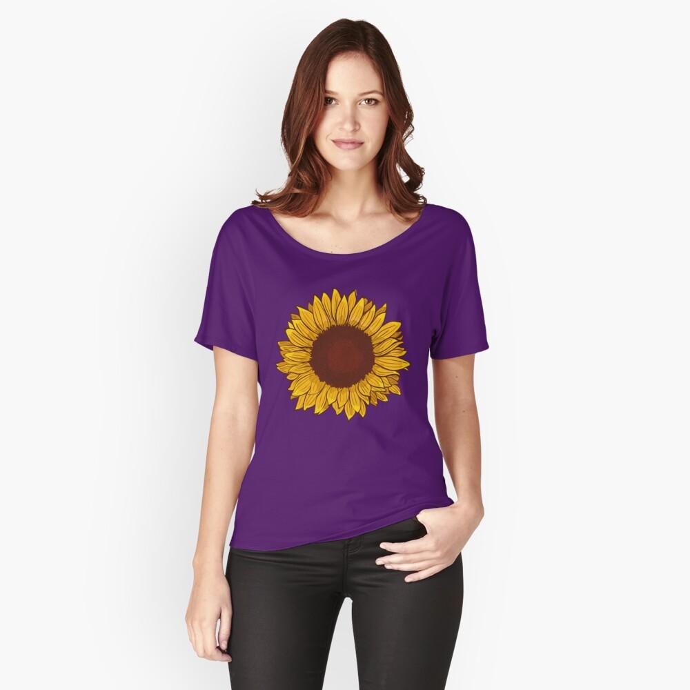 Sunflower Relaxed Fit T-Shirt