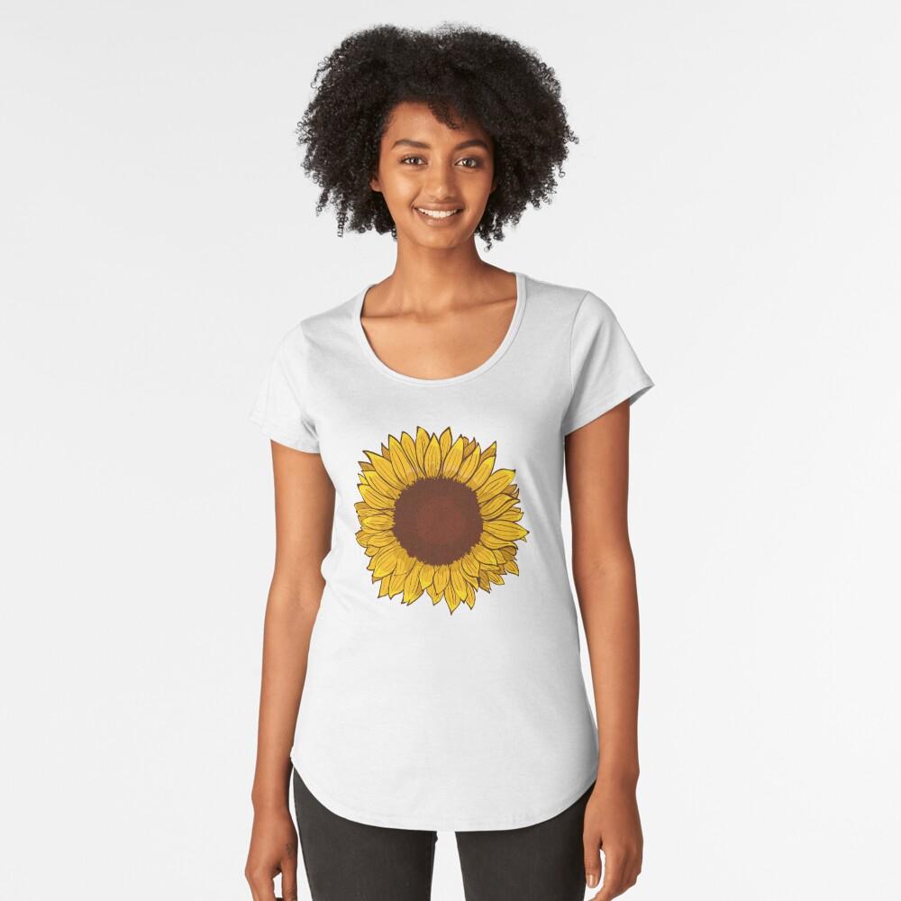 Sunflower Premium Scoop T-Shirt