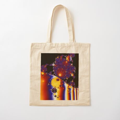Strange Attractor II Cotton Tote Bag