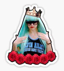 Amanda Queen Sticker