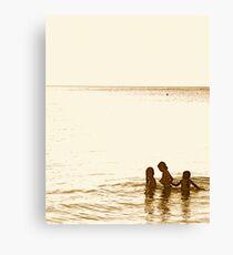 At the Beach II Canvas Print