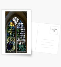 Stained Glass Window Photography 0002 Postcards