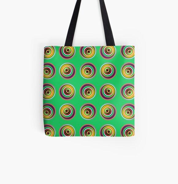 Mandala Maze Digital Art All Over Print Tote Bag
