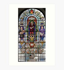 Stained Glass Window Photography 0011 Art Print