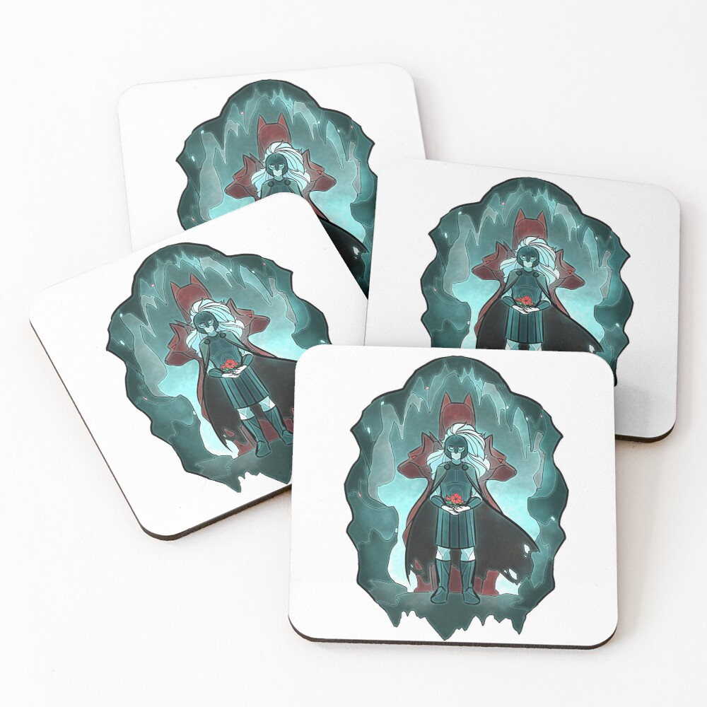 Stained Glass: Hades Coasters (Set of 4)