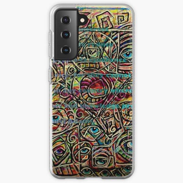 Samuel Adams on Eye See You Samsung Galaxy Soft Case