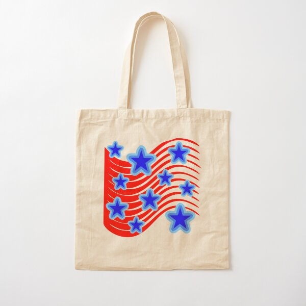 Stars and Stripes Cotton Tote Bag