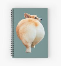 Corgi Butt Spiral Notebook