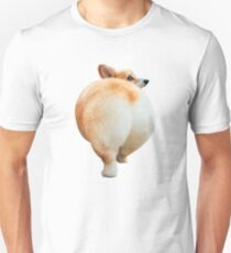 Corgi Butt Slim Fit T-Shirt