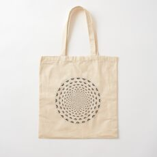 Stoic Stillness - Be Calm - Against The Chaos Cotton Tote Bag