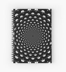 Stoic Stillness - Be Calm - Against The Chaos Spiral Notebook