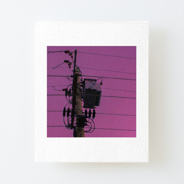 street pop 3757 MELBOURNE Canvas Mounted Print