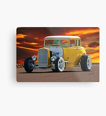 1932 Ford 'Golden Rule II' Coupe Metal Print
