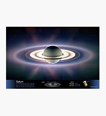 Saturn Eclipsing the Sun Photographic Print