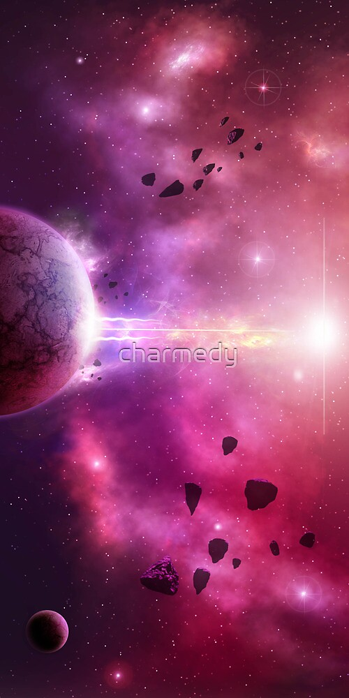 Asteroid Storm by charmedy