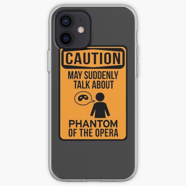 Phan Warning iPhone Soft Case