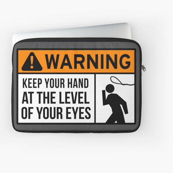 To Avoid Lassos Laptop Sleeve
