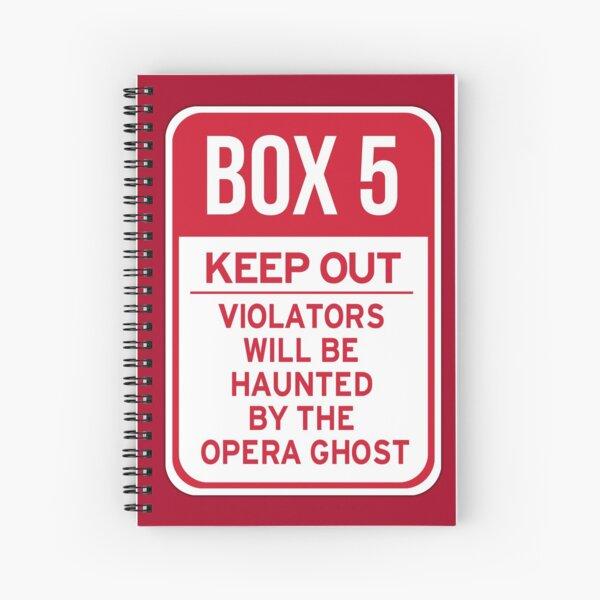 Box 5: Keep Out Spiral Notebook