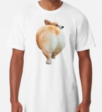 Corgi Butt Long T-Shirt